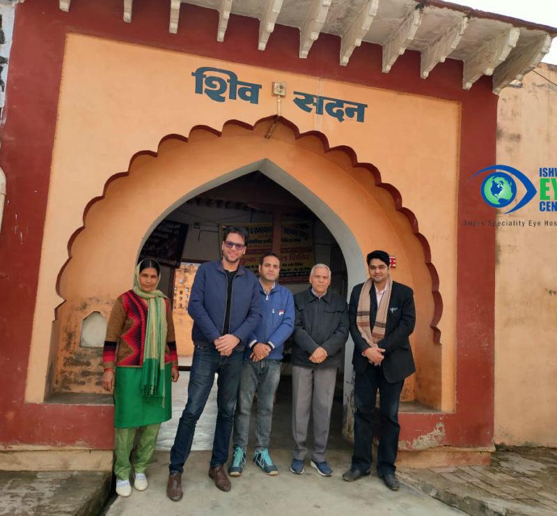 Dr Ishwar Singh visited his Ancestral Village - Dhani Phogat
