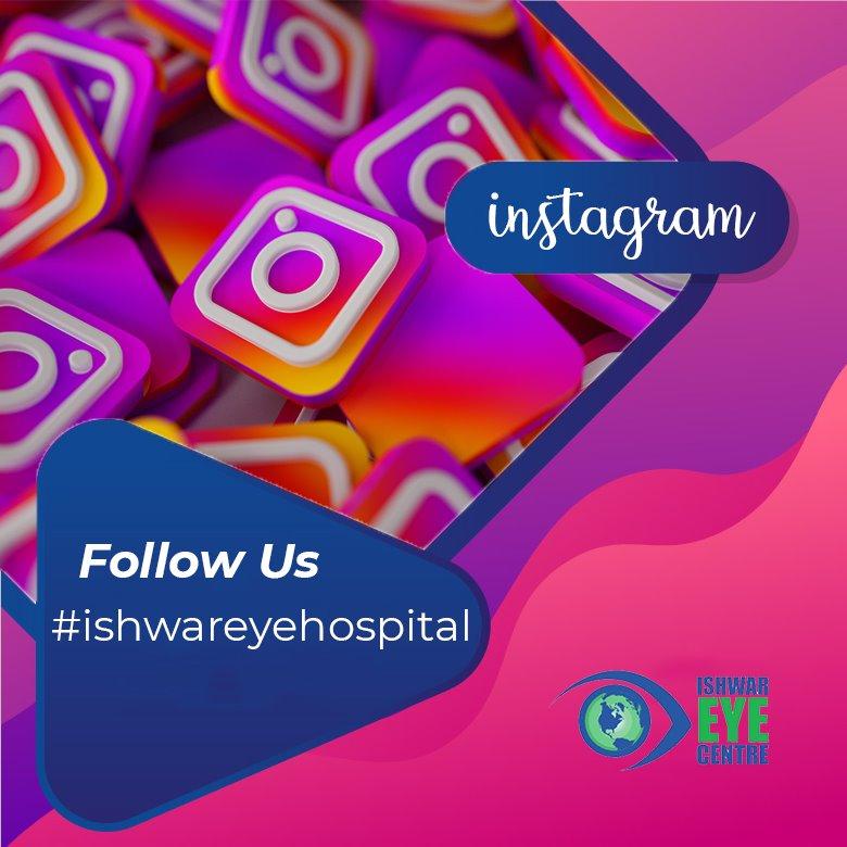 Ishwar Eye Centre - Follow Us On Instagram
