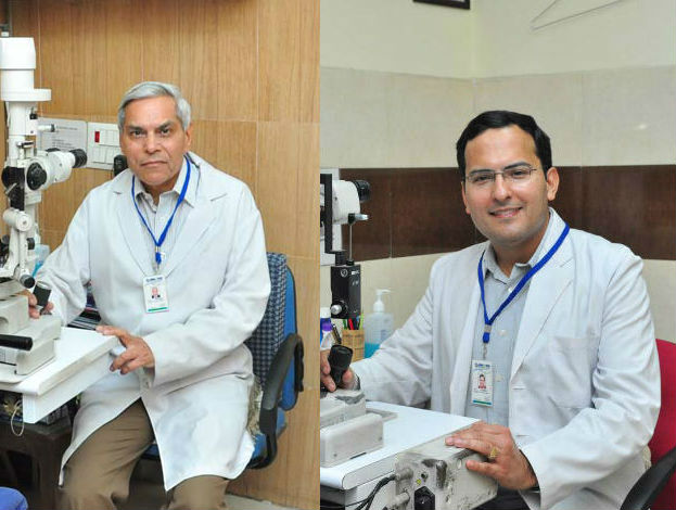 Dr Ishwar Singh and Dr Chekitaan Singh